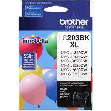Compatible Brother (LC203BK) High Yield Black Ink Cartridge (up to 550 pages)