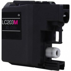 Compatible Brother (LC203M) High Yield Magenta Ink Cartridge (up to 550 pages)