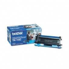 Genuine Brother (TN115C) High Capacity Cyan Toner Cartridge (up to 4,000 pages)
