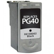Remanufactured Canon (PG-40) Black Ink Cartridge (up to 330 pages)
