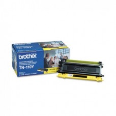 Genuine Brother (TN110Y) Yellow Toner Cartridge (up to 1,500 pages)